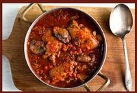 Chicken and Porcini Cacciatore