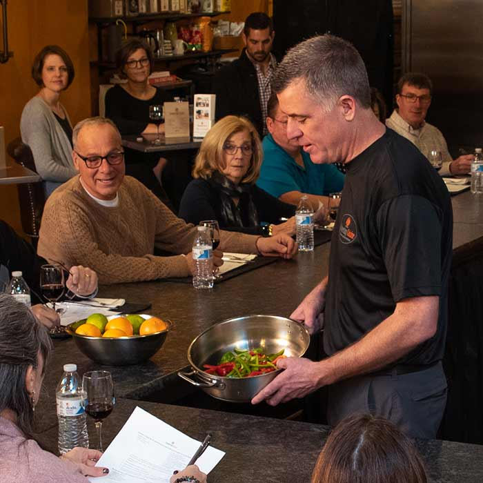 Demonstration Cooking Classes in Doylestown, PA