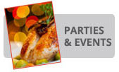 Holiday Party Caterer Doylestown, Bucks County
